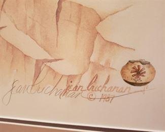 Signed art Jean Chrichanan