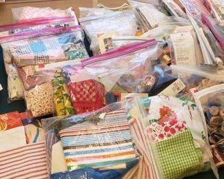 fabric grab bags