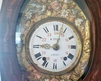 Le Page Antique tall case hour glass body fancy