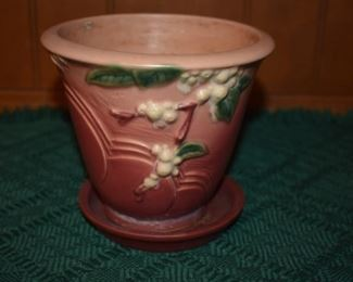 Beautiful Roseville Snowberry Jardiniere Flower Pot IPS - 5