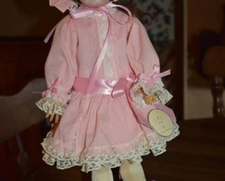 Antique 1909  Schoenau & Hoffmeister Doll with Bisque Head in Beautiful Condition!