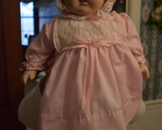 Gorgeous Antique Composition Baby Doll in Beautiful Condition!