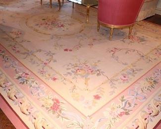 Large Floral Rug