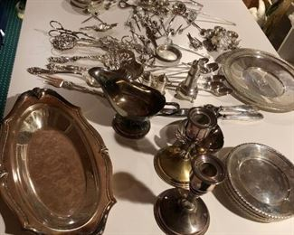 Assorted Sterling Serving Pieces