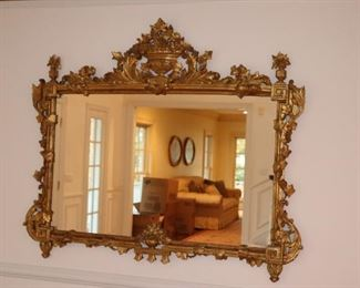 Goldleaf Mirror