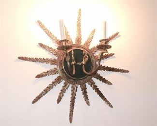 Starburst Wall Sconce