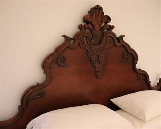 Vintage Wood Bedframe