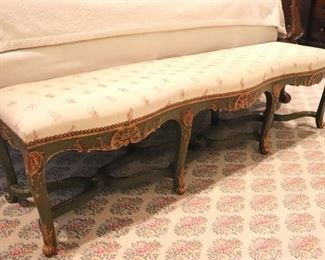 Long Upholstered Bench