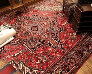 Colorful Red Rug