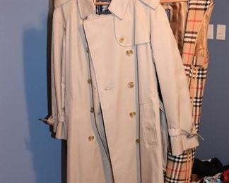 Burberry Men's and Women's Trench Coats