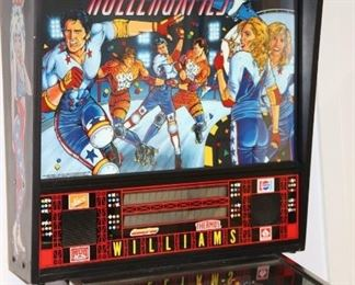 William's Pinball Machines: Rollergames