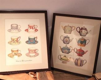 Tea Pot and Tea Cup Prints