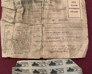 This sale has amazing ephemera antique paper advertising and more