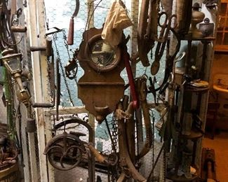 Great cast-iron Curiosities pulleys and more