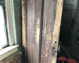 Old architectural items doors windows and more