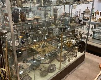 Fine selection of sterling silver candle holders toast holders and more