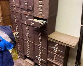 Cabinets full of watch parts!!