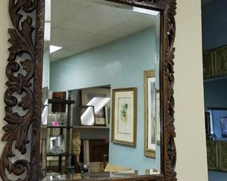 Fabulous carved mirror