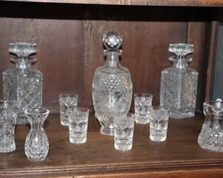 Crystal Decanters and Accessories