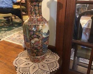 Large Asian Style Vase