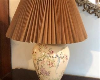 One of a pair of lamps