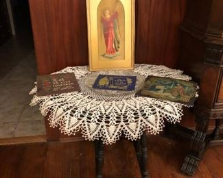 Hand Made Lace & Religious