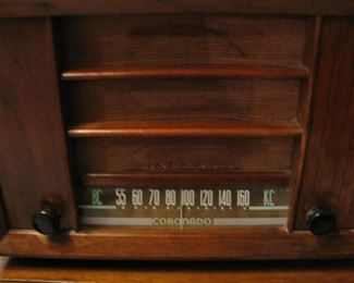 1930's Coronado Tube Radio - Works!