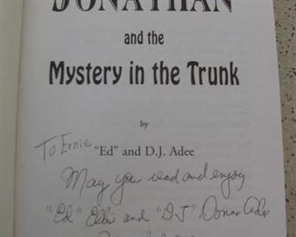 Jonathan Book Signed