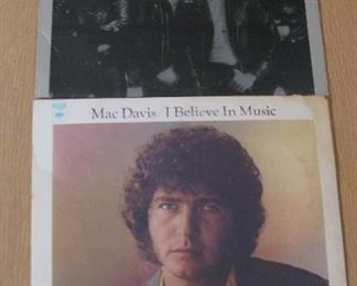 Albums  just a few out of the 100's - Queen - Mac Davis