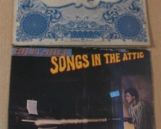 Albums  just a few out of the 100's - Billy Joel