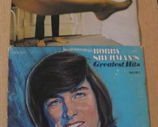 Albums  just a few out of the 100's - Bobby Sherman