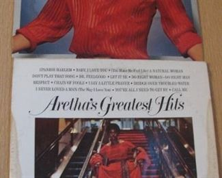 Albums  just a few out of the 100's - Aretha Franklin
