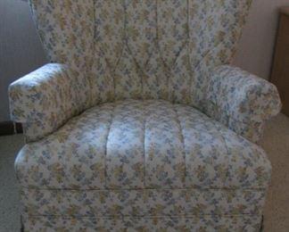 Midcentury  Modern Rocker Chair with Swivel Base