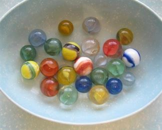Large Glass Marbles