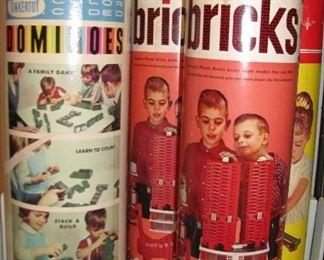 Vintage Building Toys