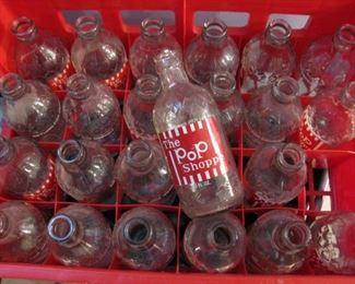 Vintage Pop Shoppe Bottles