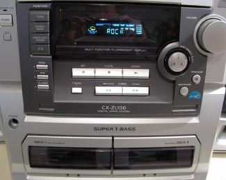 Nice Stereo!! Record - Cassette - CD Player Works Perfect