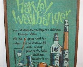 Harvey Wallbanger Drink Hanging