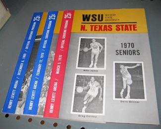 Vintage WSU Basketball Programs