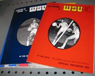 Vintage WSU Basketball Programs - Much more than pictured.