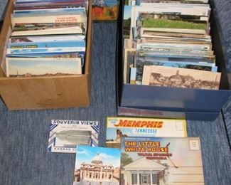 Old used and unused Post Cards