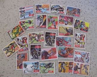 1960's Batman and Robin Trading Cards