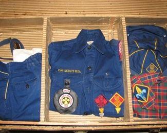 Vintage Cub Scouts Uniforms