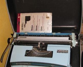 Vintage Portable Type Writer