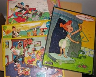 Vintage Frame Tray Puzzles