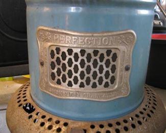Antique Oil Heater