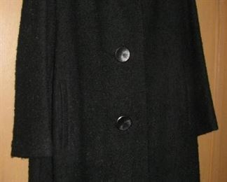 Dart Moore Vintage Coat - Large Buttons