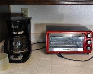 coffee maker-toaster oven