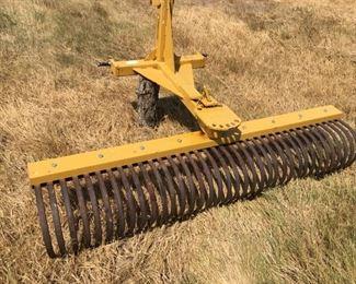 6' TSC rock rake
