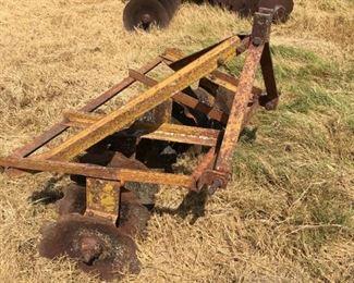 modern 4' single disc plow
